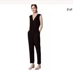 Ann Taylor LOFT black jumpsuit size 6 tall
